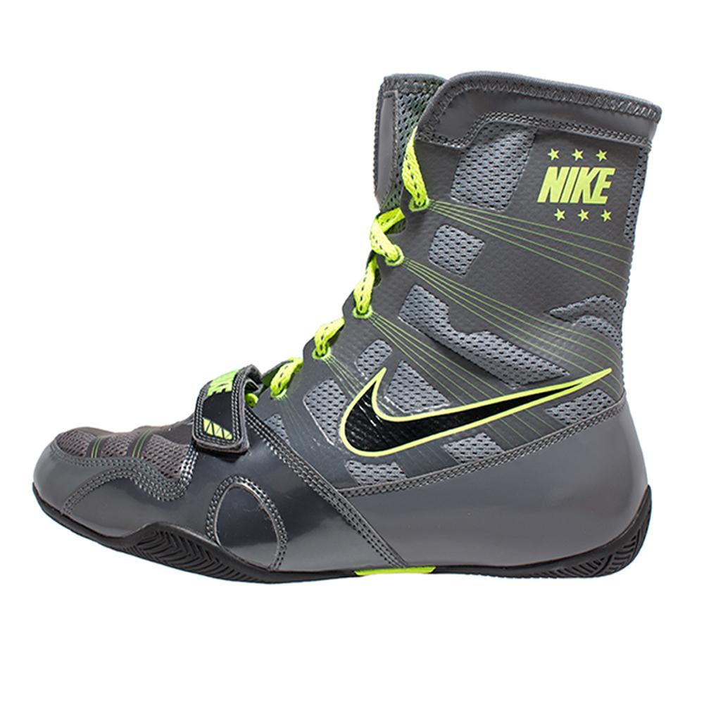 Nike HyperKO Boxing Shoes - Grey&Neon