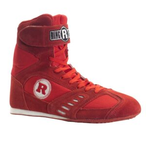 Ringside Power Boxing Shoes - Red