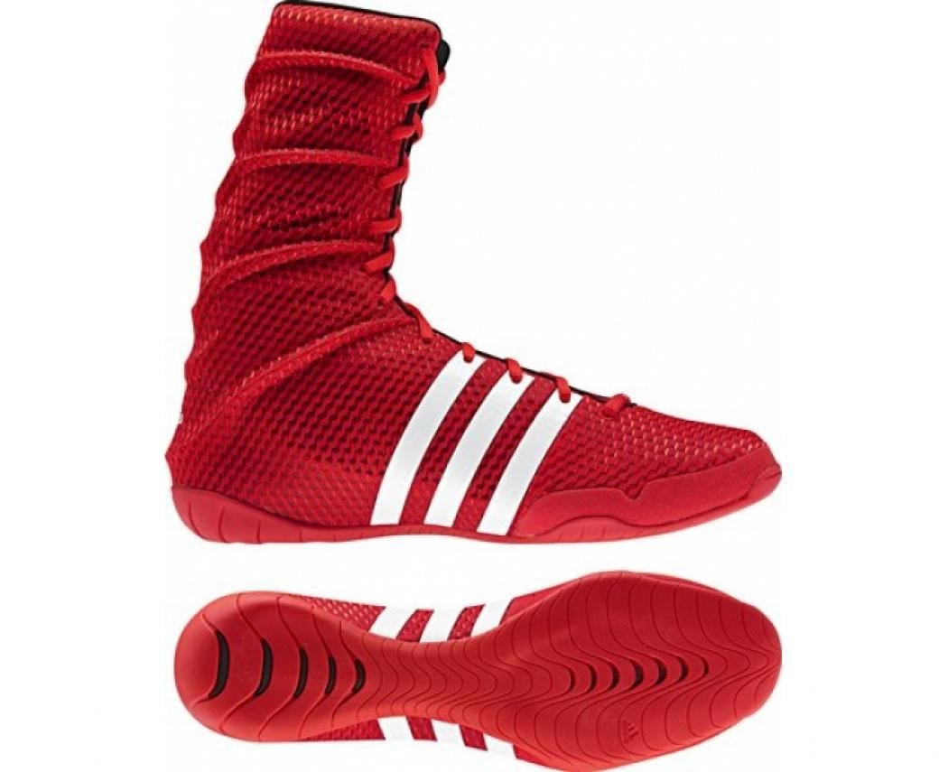 adidas Adipower Boxing Shoes - Red