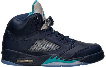 Jordan Retro 5 Midnight Basketball Shoes