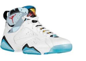 Jordan Retro 7 Turquoise Basketball Shoes