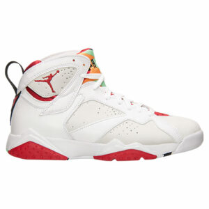 Jordan Retro 7 White Basketball Shoes