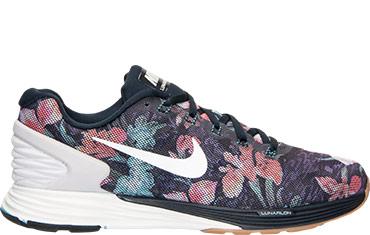 Nike Lunarglide Floral Running Shoes