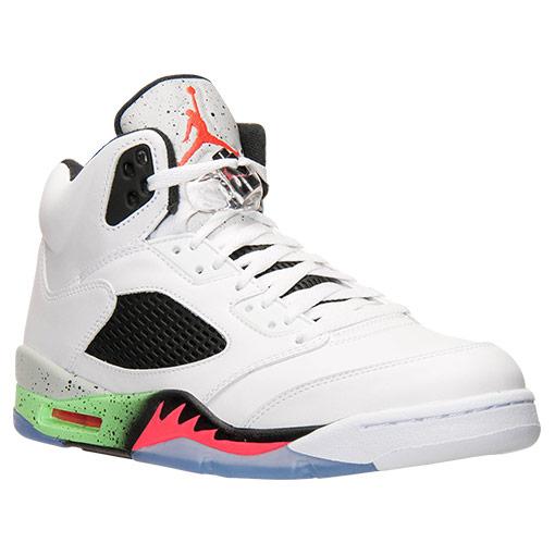 Nike Retro 5 Poison Green Basketball Shoes