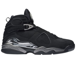 Air Jordan Retro 8 Chrome Basketball Shoes