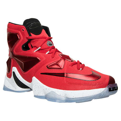 "Nike LeBron 13 University Red ""Home"" Basketball Shoes"