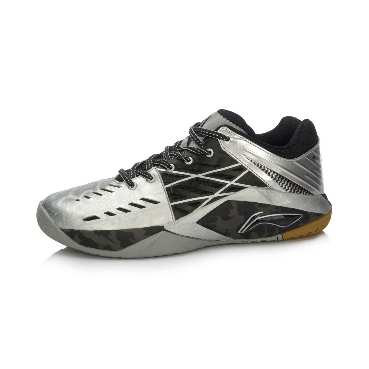 Li-Ning Chen Long 2016 Summer Badminton Shoes - Black