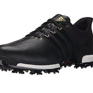 adidas-Golf-Mens-Tour360-Boost-Spiked-ShoeBlackBlackGold-Metallic105-US-0