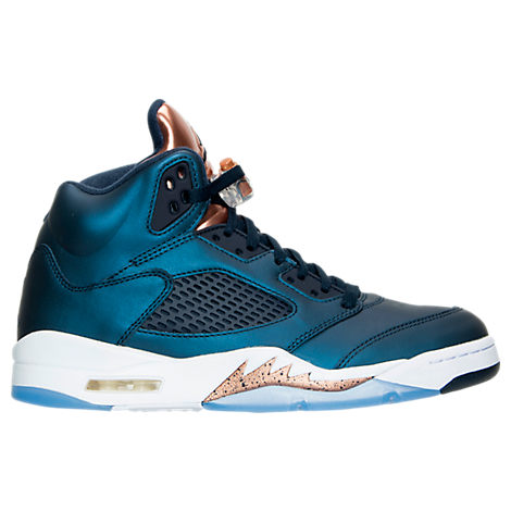 jordan-retro-5-bronze Basketball Shoes