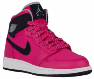 Girls Jordan AJ1 High Sneaker