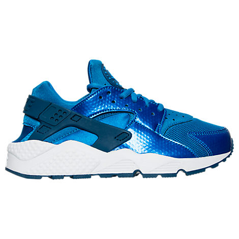 Nike Air Huarache Running Shoes_Blue Spark
