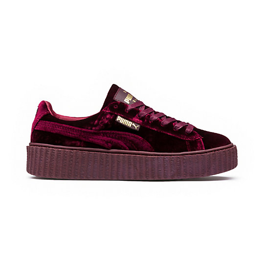 PUMA by Rihanna Womens Velvet Creeper Sneakers