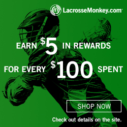 Lacrosse Monkey Rewards