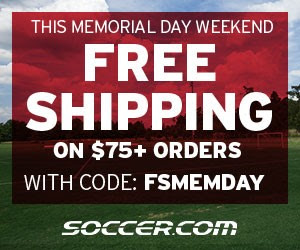 Soccer.com Memorial Day Promo Code