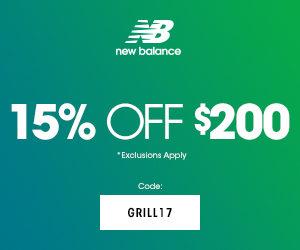New Balance 10 off 200