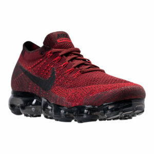 Nike Air Vapormax Flyknit Running Shoes - Dark Red