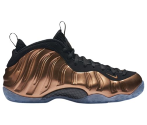 Nike Foamposite One Copper Basketball Shoes